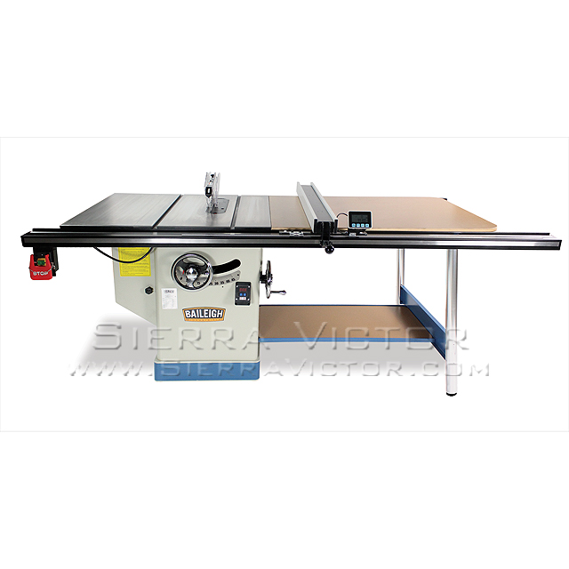 Baileigh professional cabinet table saw ts 1248p 52 for 52 table saw