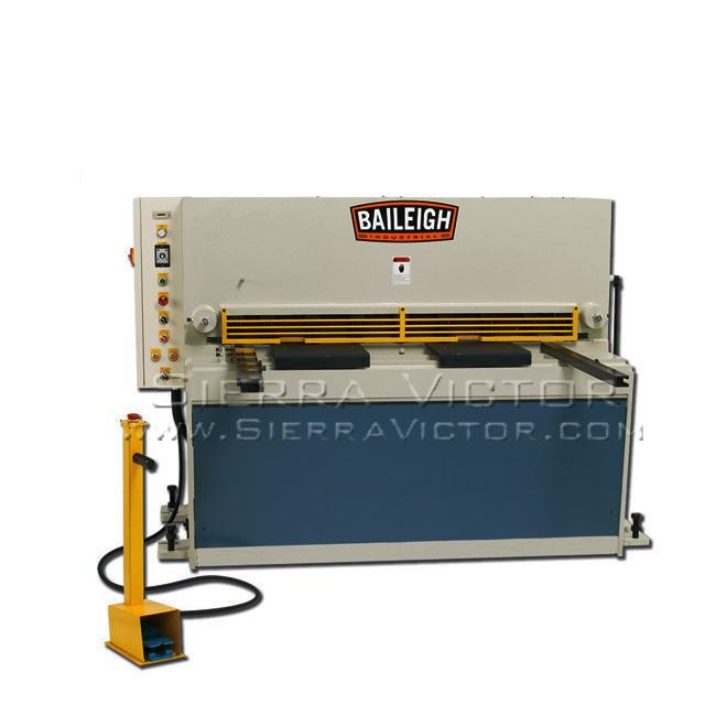 4 52 Quot X 10 Ga Baileigh 174 Hydraulic Sheet Metal Shear