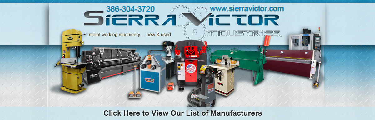 Sierra Victor Industries Manufacturers List - CLICK HERE TO SEE LIST OF MANUFACTURERS!