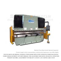 New U.S. INDUSTRIAL Hydraulic Press Brake with Front Operated Power Backgauge and Power Ram Adjust for sale
