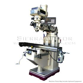 New GMC Manual Vertical Knee Mill Package for sale
