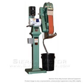New BURR KING 2-Wheel Wet Belt Grinder: MODEL 960-401 for sale