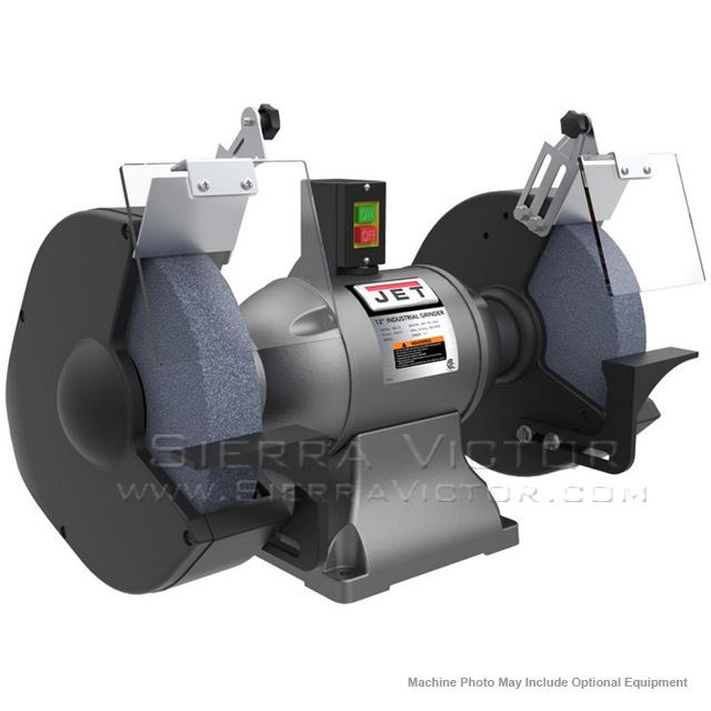 Jet Ibg 12 12 Quot Industrial Bench Grinder 578012
