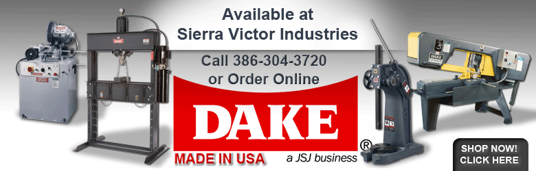 DAKE Available at Sierra Victor Industries