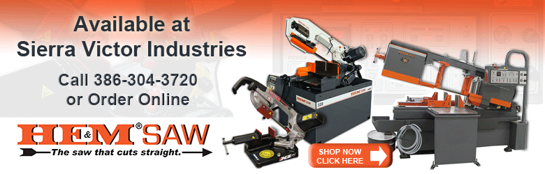 HE&M Saws Now Available at Sierra Victor Industries