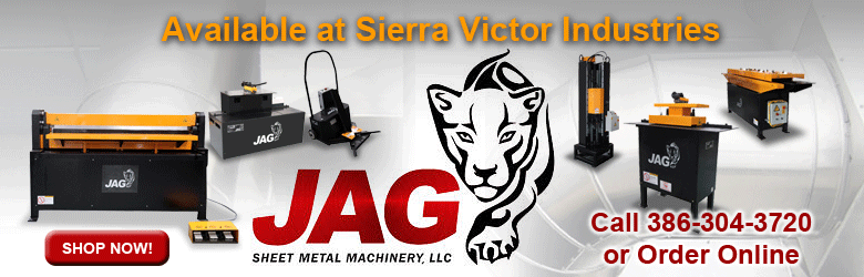 JAG Available at Sierra Victor Industries