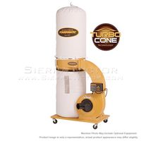 POWERMATIC PM1300TX-BK Dust Collector, 1.75HP 1PH 115/230V, 30-Micron Bag Filter Kit 1791078K