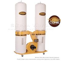 POWERMATIC PM1900TX-BK1 Dust Collector, 3HP 1PH 230V, 30-Micron Bag Filter Kit, 1792071K