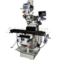 New U.S. INDUSTRIAL Heavy Duty Manual Variable Speed Milling Machine Package for sale