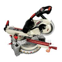 "JET 10"" Sliding Dual Bevel Compound Miter Saw, 707110"