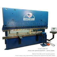 New STANDARD INDUSTRIAL Hydraulic CNC Press Brake: AB200-12 for sale