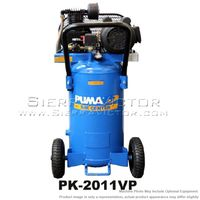 PUMA 1 HP Professional Belt Drive Portable Air Compressor PK-2011VP