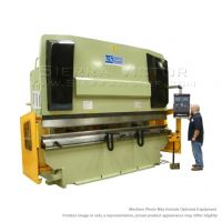 U.S. INDUSTRIAL Hydraulic Press Brake with Front Operated Power Backgauge and Power Ram Adjust USHB330-13HM