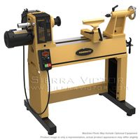 POWERMATIC PM2014 1HP 230V Professional Turning Lathe and Stand Kit 1792014AK