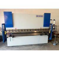 PRE-OWNED HOSTON 10' x 88 Ton 2 Axis CNC Press Brake with Delem 41S CNC HPB-80T/3200 for sale