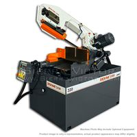 New HE&M Semi-Automatic Double Miter Bandsaw: 320 BSA for sale
