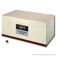 JET AFS-2000, 1700CFM Air Filtration System, 3-Speed, with Remote Control, 708615