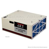 JET AFS-1000B, 1000 CFM Air Filtration System, 3-Speed, with Remote Control, 708620B