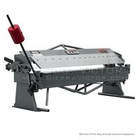 "JET BPB-1650, 50"" x 16 Gauge Bench Model Box & Pan Brake, 754105"