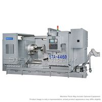 New SHARP CNC Big Bore Lathe for sale