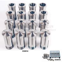 JET Premium 35 Piece 5-C Collet Set With Rack (1/32nd), 650016
