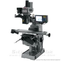 JET JTM-4VS Mill With 2-Axis ACU-RITE G-2 MILLPWR CNC, 690938