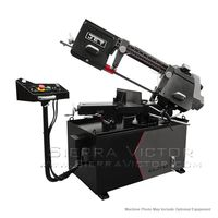 JET ELITE EHB-8VSM, 8 x 13 Variable Speed Mitering Bandsaw