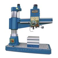 BAILEIGH RD-1600H Hydraulic Radial Drill Press