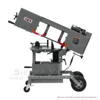 JET HVBS-10-DMW Dual Miter Portable Bandsaw 1HP 115V 424463