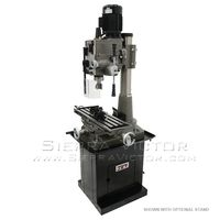 New JET JMD-45GHPF Geared Head Square Column Mill/Drill with Power Downfeed 351046 for sale