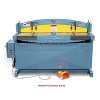 New ROPER WHITNEY Hydraulic Squaring Shear: PH-52 for sale