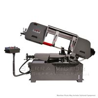 New JET HBS-1220MSAH Semi-Automatic Mitering Variable Speed Bandsaw with Hydraulic Vise 424475