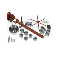 METAL ACE English Wheel U-Weld Kit MA44F-UW