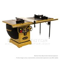 "POWERMATIC PM2000 Tablesaw 5HP 1PH 230V 50"" Accu-Fence System, Router Lift PM25150RK"