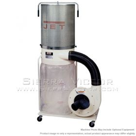 JET DC-1100VX-CK Dust Collector, 1.5HP 1PH 115/230V, 2-Micron Canister Kit, 708659K