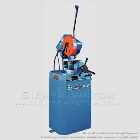 SCOTCHMAN Ferrous Cold Saw with Power Clamp