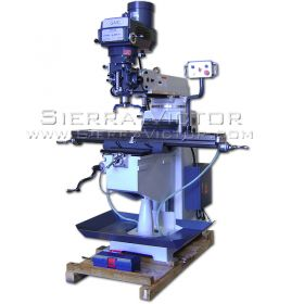 New GMC Manual Knee Type Vertical Milling Machine for sale