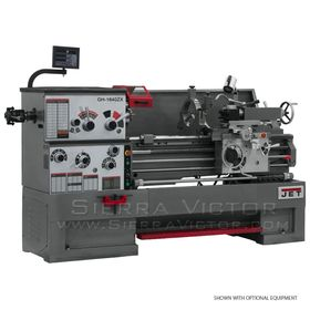 JET GH-1640ZX Geared Head Lathe 321930