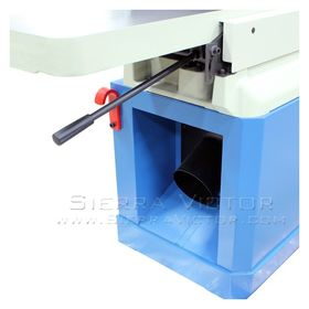 BAILEIGH Long Bed Parallelogram Jointer with Helical Cutter Head IJ-1288P-HH