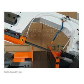 HE&M Semi-Automatic Double Miter Bandsaw 320 BSA