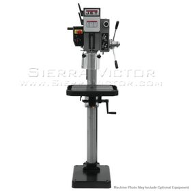 JET J-A2608M-PF2 Arboga Gear Head Drill Press With Power Down feed 220V, 3Ph 354030