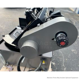 JET ELITE EHB-1018VMH, 10 x 18 Semi-Auto Variable Speed Dual Mitering Saw With Hydraulic Vise, 891080