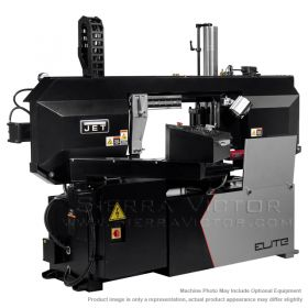 New JET ELITE ECB-1422V Dual Column Variable Speed Semi-Automatic Bandsaw 891160 for sale