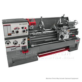 """JET GH-1660ZX, 3-1/8"""" Spindle Bore Geared Head Lathe, 321940"""