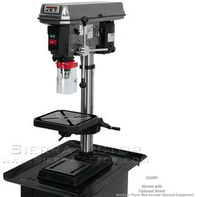 "JET J-2530, 15"" Bench Model Drill Press 115V 1Ph, 354401​"