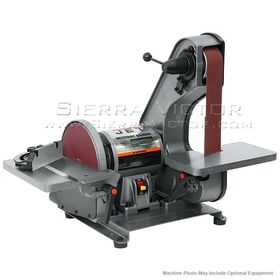 JET J-41002 2 x 42 Bench Belt & Disc Sander, 577004