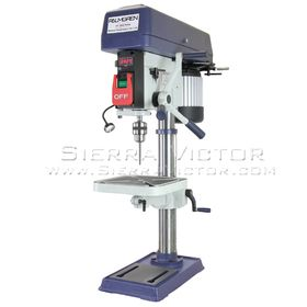 New PALMGREN 16-Speed Floor Step Pulley Drill Press: 9680158 for sale