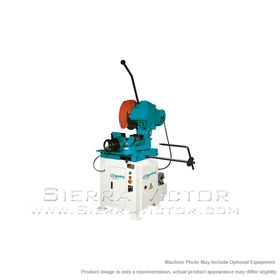 New CLAUSING Pneumatic Vice Ferrous Cutting Circular Saw for sale