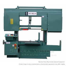 New W.F. WELLS Horizontal Cut Off Band Saw for sale