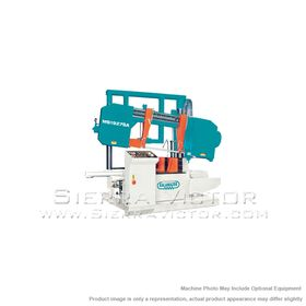 New CLAUSING Semi-Automatic Hydraulic Swivel Head Twin Column Miter Bandsaw for sale